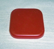 Medium Square Rounded Corner Thin Silicone Foot/Pad